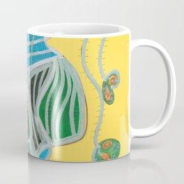 Wild Flowers In A Vase Coffee Mug