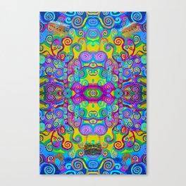 Klimt Tree of Life Mandala Canvas Print