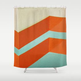 Direction Change 8 Shower Curtain