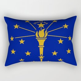 Indians State Flag Rectangular Pillow