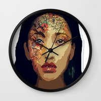 pocahontas Wall Clocks featuring Pocahontas by FannikaRial
