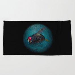 Dead Fly Beach Towel