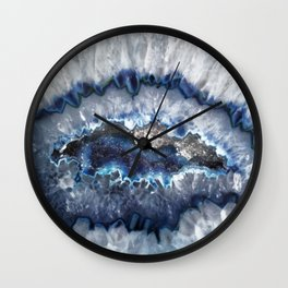 Cold Ice Agate Wall Clock