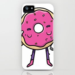 Hallo Donut iPhone Case