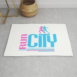 Run city Rug