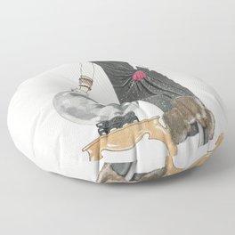 LEmpire du monde Robe du soir de Worth from Gazette du Bon Ton Art- Modes  Frivolites No 6 (1924) fa Floor Pillow