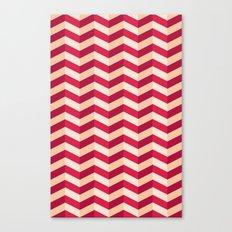 Zigzag Canvas Print