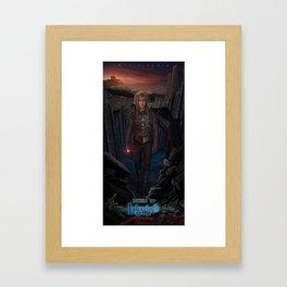 Jareth Is Back-Return To Labyrinth Framed Art Print