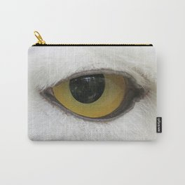In the eye of a snow owl Carry-All Pouch