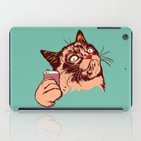 makeup iPad Cases featuring No Makeup by beart24