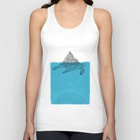 turtle Tank Tops featuring Turtle by David Penela