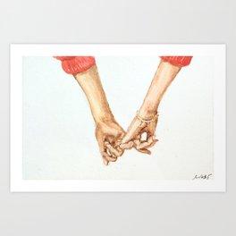 Pinky Swear III Art Print