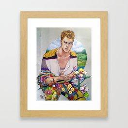 The Transcendental Gentlemen Framed Art Print