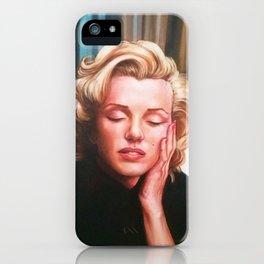 Portrait 5 iPhone Case