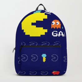 Mr. PacMan in Action Backpack
