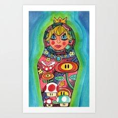 Russian Peach Art Print