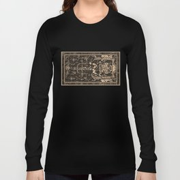 Sala Tumba de Pakal Long Sleeve T-shirt