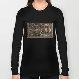 Sala Tumba de Pakal Long Sleeve T-shirt