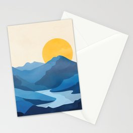 Minimalistic Landscape 10   Stationery Cards