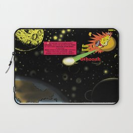 Title: Bird of Steel Comix - Page #2 of 8 (Society 6 POP-ART COLLECTION SERIES) Laptop Sleeve