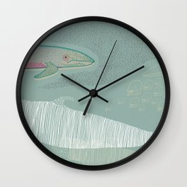 The Odd Pod Wall Clock