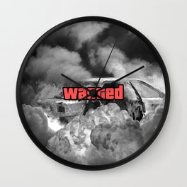 Wasted GTA Wall Clock