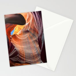 Geology Alive - Time Passage of Upper Antelope Canyon Stationery Cards