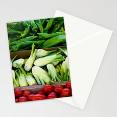 Graphic vegetables Stationery Cards