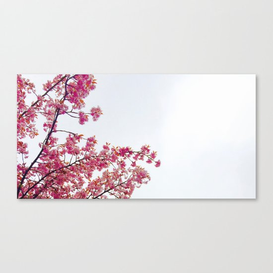 watercolor bloom Canvas Print