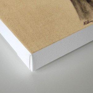 Electro-deer Canvas Print