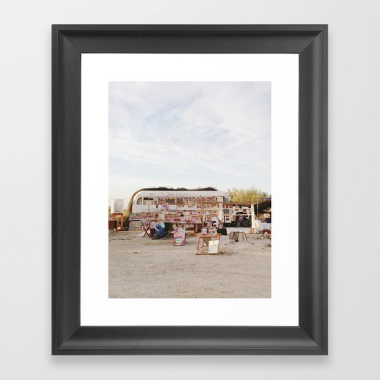 Slab City Art Framed Art Print