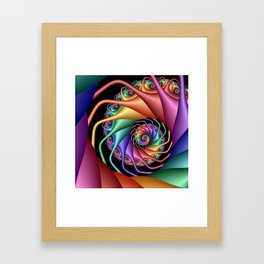 life is colorful -10- Framed Art Print