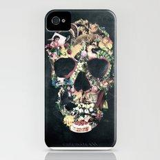 Vintage Skull iPhone (4, 4s) Slim Case