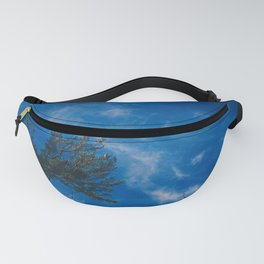 The eagle and the blue sky Fanny Pack