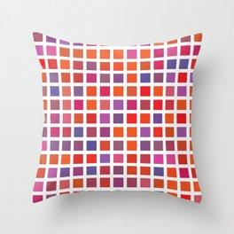 City Blocks - Love #947 Throw Pillow