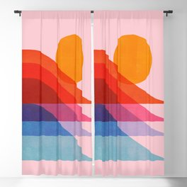 Abstraction_Surfing_New_WAVE_001 Blackout Curtain