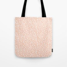 Small Random Dots Tote Bag