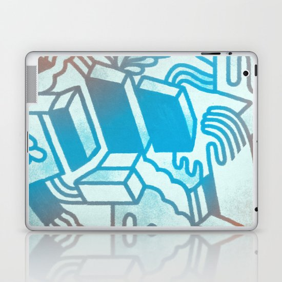 Building Blocks Laptop & iPad Skin