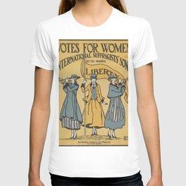 Votes For Women Poster T-shirt