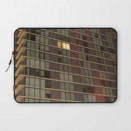 Single lit window in a modern apartment Laptop Sleeve