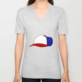 A Strange Cap Unisex V-Neck