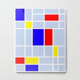 Mondrian #67 Metal Print