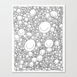 Sticking Together Canvas Print