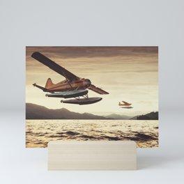 Float Plane Flyby Mini Art Print