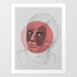 circlefaces Art Print