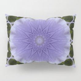 Mauve Kaleidoscope Pillow Sham