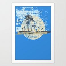 Treasure Island Dizzy Art Print
