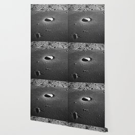 Apollo 10 - Moltke Moon Crater Wallpaper