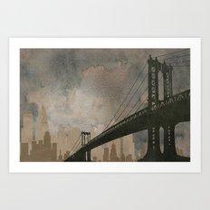 Bridging Gaps Art Print