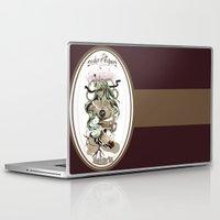 tarot Laptop & iPad Skins featuring Star Tarot by A Hymn To Humanity